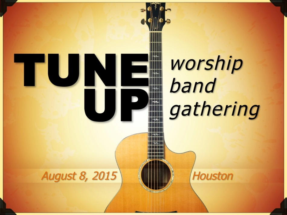 TUNE UP worship band gathering header
